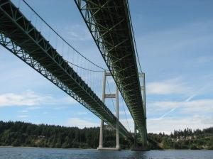 Under the Narrows Bridge